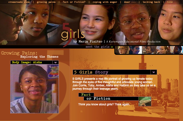 5 Girls: Archived site
