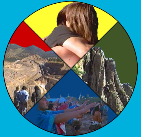 The Sacred Circle: Laughing/learning, loving, living and leaving