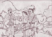 Illustration by Jesús Tecú Osorio.