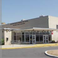 Hunterdon Central Regional High School, entrance