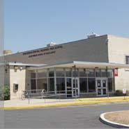 Hunterdon Central Regional High School, entrance