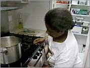 West 47th Street - Zeinab in the kitchen 1