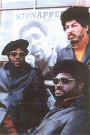 Photo: Elbert Howard with fellow Black Panther Party members in DC