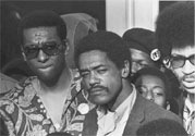 Photo: Bobby Seale with Stokely Carmichael, circa 1968-70