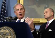 Mayor Bloomberg and Police Commissioner Kelly address security concerns