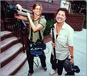 every Mother's Son - Kelly Anderson (left) and Tami Gold.