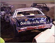 Speedo's 'Cadillac on the Attack' car