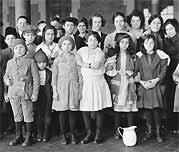 Big Enough: Immigrant children at Ellis Island.