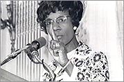 Shirley Chisholm in 1972