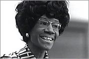 Shirley Chisholm in the early 1970s