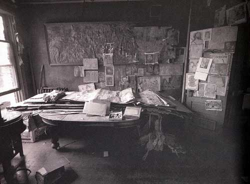 Henry Darger's one-room Chicago apartment