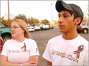 Members of the Lubbock High School Gay Straight Alliance