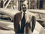 TBob Stern as a young salesman in Chicago.