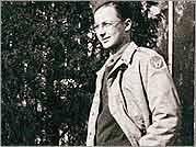 Bob Stern as a soldier in World War II.