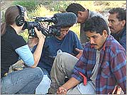 Natalia Almada films border crossers who were caught by the Civil Homeland Defense Group 30 miles north of the U.S./Mexico border