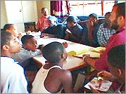 Boys of Baraka - The boys in a classroom in Africa