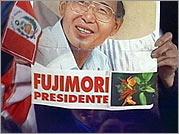 Fujimori campaign poster
