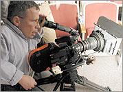 Steven Delano behind the camera