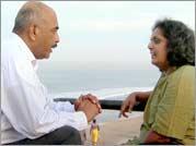 No More Tears Sister - Dayapala Thiranagama, Rajani's husband, and Nirmala Rajasingam, Rajani's older sister