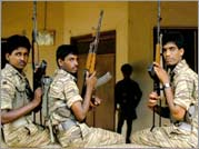 No More Tears Sister - Young LTTE soldiers with guns