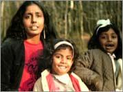 No More Tears Sister - Rajani Thiranagama with her daughters, Sharika and Narmada