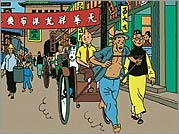 Tintin and I - Hergé wrote The Blue Lotus, a Tintin adventure set in China, after meeting Tchang Chong-chen, a young Chinese artist living in Brussels. The Blue Lotus, with its meticulously accurate details and cultural sensitivity, is considered a turni
