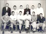 A group of 12 students, including Lee, left Bloemfontein, South Africa in 1960 in protest of over the new