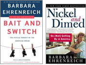Book Covers for 'Nickel and Dimed' and 'Bait and Switch'