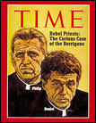 Reverends Philip and Daniel Berrigan of the Catonsville Nine on the cover of TIME magazine on January 25, 1971.