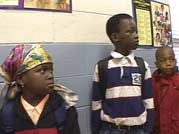Somali schoolchildren in the United States.