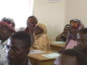 Rain in a Dry Land - Somialis take orientation classes in refugee camp in Kenya before coming to America, but many take more classes to learn English upon their arrival.