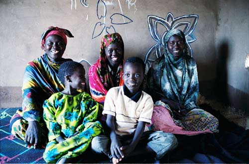Arbai Barre Abdi and family at Kakuma Refugee Camp, Kenya.