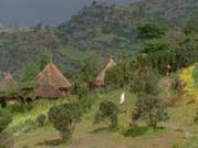 rain huts in Somalia