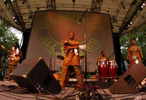 Sierra Leone's Refugee All Stars at Central Park Summer Stage