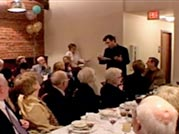 Wrestling With Angels - Freida Lee Mock filmed Kushner's father's 80th birthday party in Lake Charles, Louisana, because she felt it was an important part of Kushner's story.