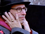 Wrestling With Angels - Tony Kushner visits the set of the HBO miniseries, Angels in America, directed by Mike Nichols, in Central Park to watch the filming.