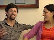 Filmmaker Joanna Rudnick and her boyfriend Jimmy