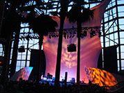Johnny Cash- The stage at the Winter Garden Atrium