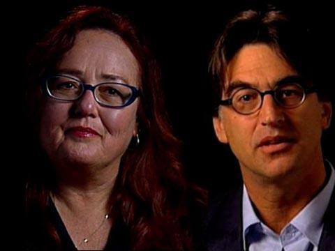 Catherine Ryan and Gary Weimberg