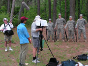 Soldiers of Conscience: Crew filming soldiers