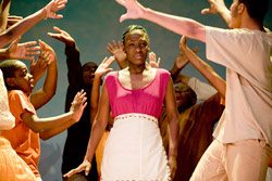 Bronx Princess- Rocky Otoo, 17, stars in her high school musical