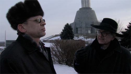Igor and Dr. Henry Marsh in the Ukraine