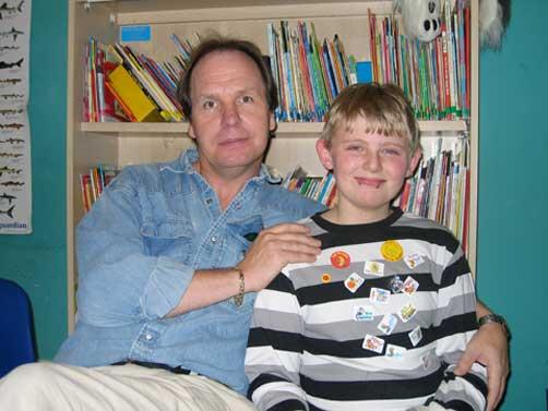 Michael and Stuart