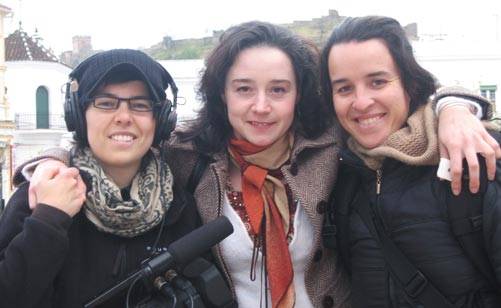 Ella Es el Matador: Celeste Carrasco, Eva Florencia and Gemma Cubero