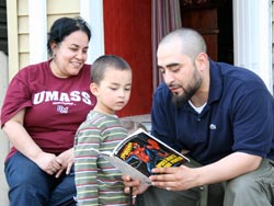 New Muslim Cool: Hamza, his mom and his son