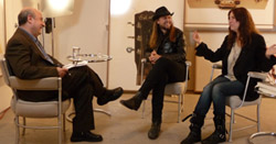 Patti Smith: Anthony DeCurtis interviewed Steven Sebring and Patti Smith at the Robert Miller Gallery in New York City.