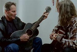 Patti Smith: Sam Shepard playing guitar and Patti Smith