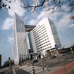 The ICC Building in The Hague, Netherlands