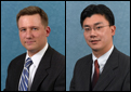 Brett Schaefer and Anthony Kim of the Heritage Foundation