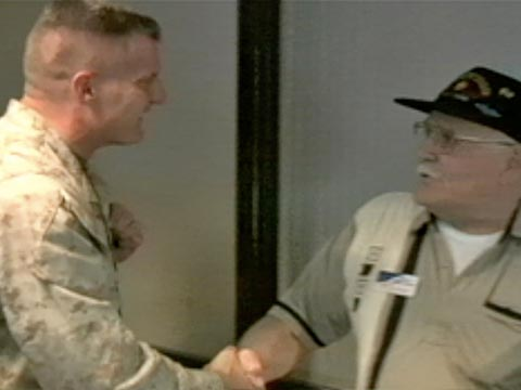 Soldiers' Response to the Troop Greeters (Clip 2 of 2)